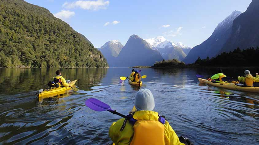 Milford Sound Kayaking with Active Adventures2