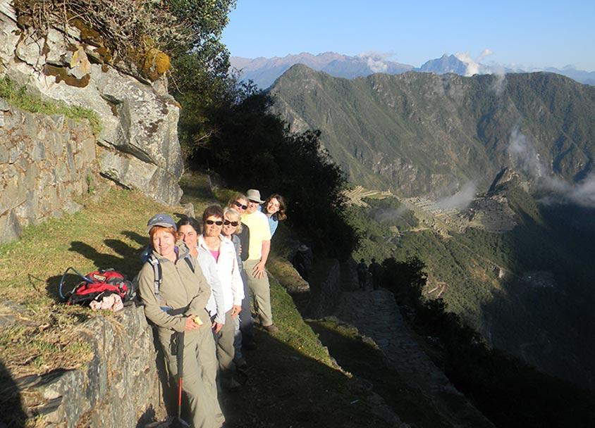 Group near the Sun Gate