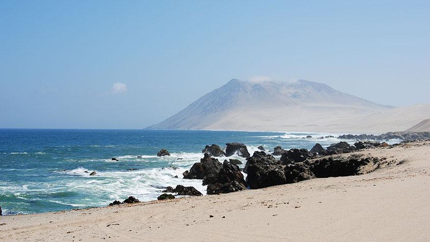 Marcona Beach Peru Coastline