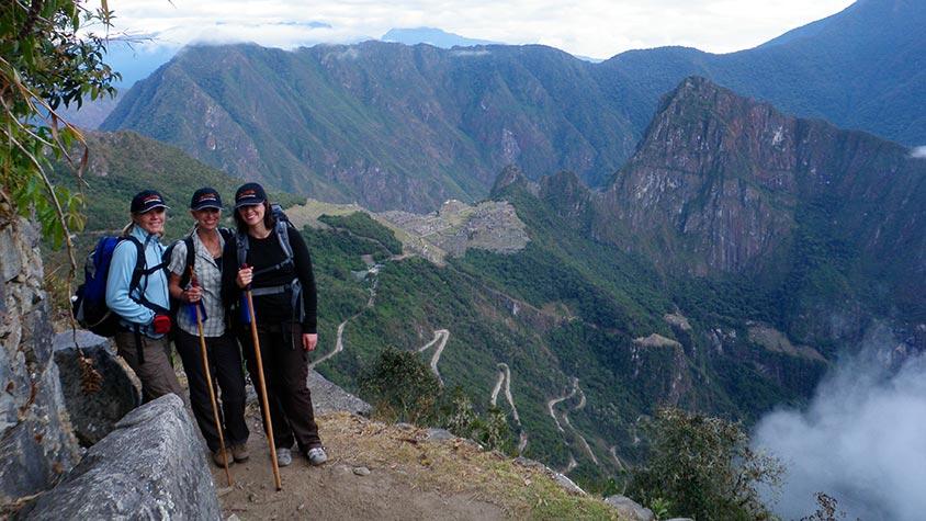 machu picchu hikers