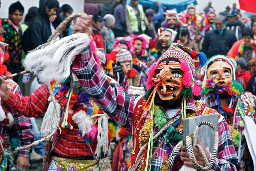 12 Peruvian Festivals, One for Each Month of the Year