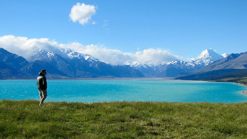 braemar station mount cook view