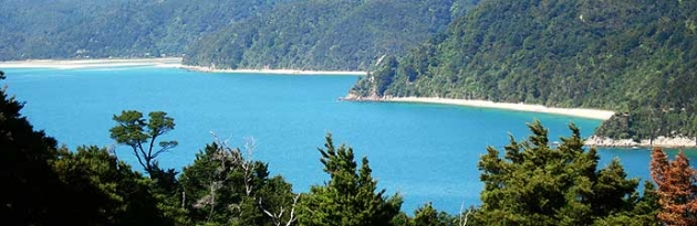 Abel Tasman National Park coastline
