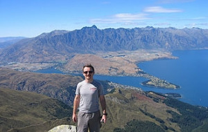 Queenstown and the Remarkables from the Ben Lomond trail