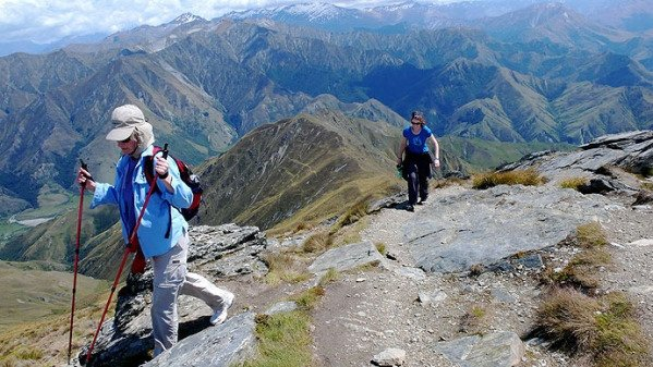Image of Hiking to the summit of Ben Lomond, Queenstown