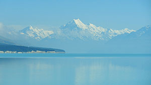 Mount Cook from across Lake Pukaki