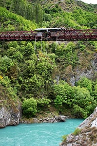 Bungy Jumping from the Kawarau Bridge, Queenstown