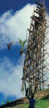 Land-diving in Vanuatu - the origins of bungy jumping