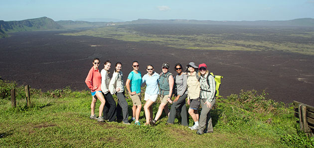 Galapagos Islands Small Group Sierra Negra Volcano Hike