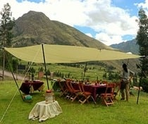 Inca Trail dining