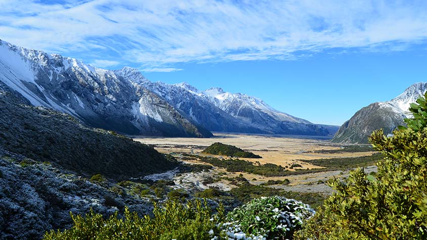 Mountain Photography New Zealand